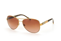 Burberry BE 3080 1145/13, Aviator Sonnenbrillen, Beige