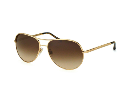 Burberry BE 3082 1210/13, Aviator Sonnenbrillen, Goldfarben