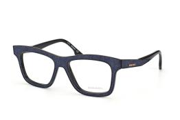 Diesel DL 5066/v 005, Trapezoid Brillen, Schwarz