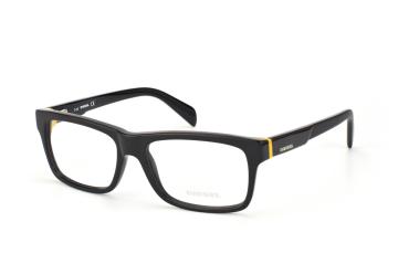 Diesel DL 5071/v 001, Rectangle Brillen, Gelb