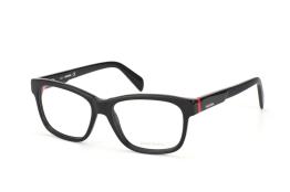 Diesel DL 5072/v 001, Trapezoid Brillen, Rot