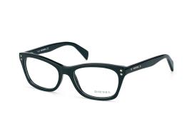 Diesel DL 5073/v 001, Oval Brillen, Schwarz
