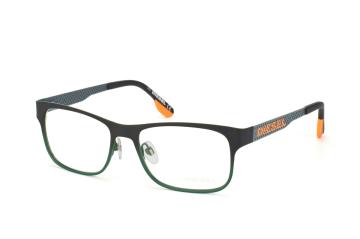 Diesel DL 5074 098, Rectangle Brillen, Grau