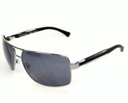 Emporio Armani Damen, Herren Sonnenbrille schwarz 64 - 1