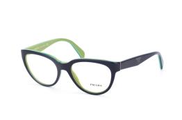 Prada PR 10Pv Oab1O1, Trapezoid Brillen, Dunkelblau