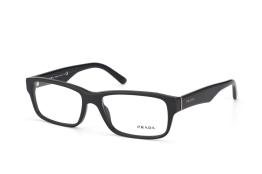 Prada PR 16Mv 1Bo1O1, Trapezoid Brillen, Schwarz