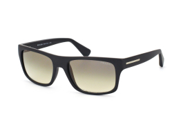 Prada PR 18Ps 1Bo0B1, Rectangle Sonnenbrillen, Schwarz
