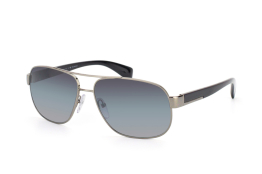 Prada PR 52Ps 5Av5W1, Rectangle Sonnenbrillen, Schwarz