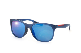 Prada Sport PS 03Os Jap9P1, Trapezoid Sonnenbrillen, Blau