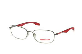 Prada Sport PS 50Ev Pdh101, Oval Brillen, Rot