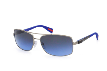 Prada Sport PS 50Os 5Av5I1, Rectangle Sonnenbrillen, Blau