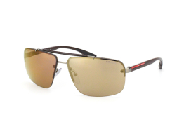 Prada Sport PS 52Os 5Av1C0, Rectangle Sonnenbrillen, Braun