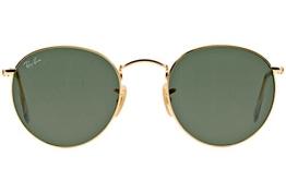 Ray Ban Für Mann Rb3447 Gold / Green Metallgestell Sonnenbrillen, 50mm - 1