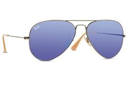 RAY BAN Herren 3025 Sonnenbrillen demiglos brusched bronze - 1