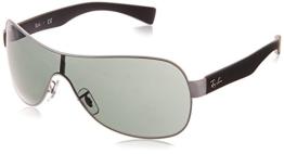 Ray Ban Sonnenbrille Metallic RB 3471 schwarz - 1