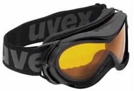 Uvex Hurricane - Skibrille / Snowboardbrille / Schneebrille - schwarz - 1