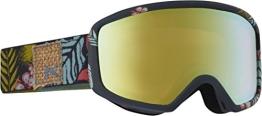Anon Damen Snowboardbrille Deringer MFI, Tiki/Gold Chrome, 15237100958 - 1