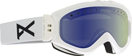 Anon Damen Snowboardbrille Majestic, White/Blue Lagoon, 10763100102 - 1