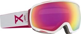 Anon Damen Snowboardbrille Tempest, White/Pink Sq, 10776100117 - 1