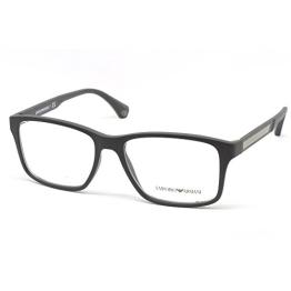 Emporio Armani Brille EA 3055 5063 in der Farbe matt schwarz - 1