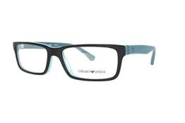 Emporio Armani Brille EA 3061 5393 in der Farbe matt schwarz, matt türkis - 1