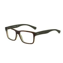 Emporio Armani Für Mann 3059 Tortoise / Matte Green Kunststoffgestell Brillen, 53mm - 1