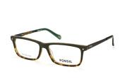 Fossil FOS 6032 Uhi, Rectangle Brillen, Dunkelgrau
