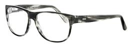 JOOP! Brille 81063 6413 aus Kunststoff Größe 55/15 in der Farbe schwarz - grau - 1