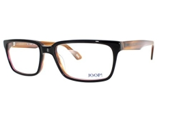 JOOP! Brille 81081 6654 Gr. 55 in aubergine/ orange - 1