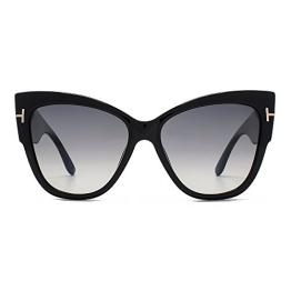 Tom Ford Anoushka Sonnenbrillen In Glänzend Schwarz Ft0371 01 B 57 - 1