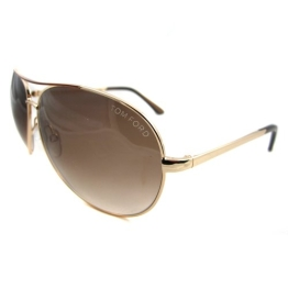 Tom Ford Charles FT0035 772 Shiny Rose Golden - 1