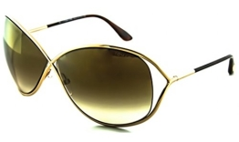 Tom Ford Miranda FT0130 C68 28G (shiny rose gold / brown mirror) Sonnenbrillen - 1