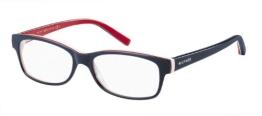 Tommy Hilfiger 1018 Blue / Red Kunststoffgestell Brillen, 52mm - 1