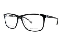 Tommy Hilfiger Brille TH 1317 0L5 in der Farbe schwarz, blau transparent hinterlegt - 1