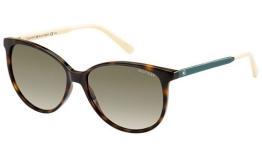 Tommy Hilfiger Damen Schmetterling Sonnenbrille TH 1261/S HA, Gr. 57 mm, 4LV - 1