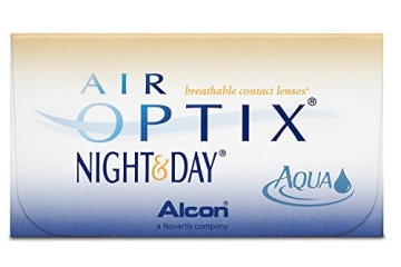 Air Optix Night & Day Aqua Monatslinsen weich, 6 Stück / BC 8.6 mm / DIA 13.8 / -01.00 Dioptrien - 1