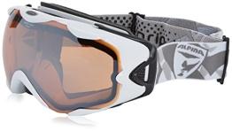 Alpina R-Tech Hybrid-Mirror-OTG-Brille, weiß - 1