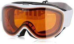 ALPINA Skibrille Challenge 2.0 DH, Rahmenfarbe: White, Linsenfarbe: Dlh S2, One size, 7094111 - 1