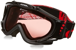 ALPINA Skibrille Fight, Black, One size, 7009033 - 1