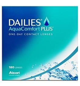 Dailies Aquacomfort Plus Tageslinsen weich, 180 Stück / BC 8.7 mm / DIA 14 / -2.75 Dioptrien - 1