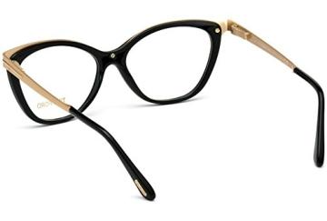 Tom Ford FT5374 C54 001 (shiny black / ) Polarisierende Brillengestelle - 4