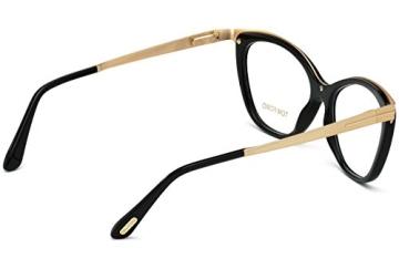 Tom Ford FT5374 C54 001 (shiny black / ) Polarisierende Brillengestelle - 6