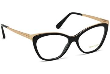 Tom Ford FT5374 C54 001 (shiny black / ) Polarisierende Brillengestelle - 8