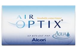 Air Optix Aqua Monatslinsen weich, 6 Stück / BC 8.6mm / DIA 14.2 / -1,00 Dioptrien - 1