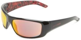 Arnette Hot Shot Sonnenbrille Gloss Black / Red Mi - 1