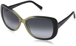 Calvin Klein CK7859S Oval Sonnenbrille, 413 Navy & Sand Gradient - 1
