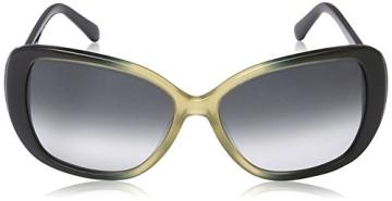Calvin Klein CK7859S Oval Sonnenbrille, 413 Navy & Sand Gradient - 2