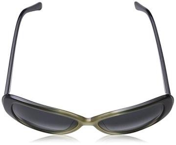 Calvin Klein CK7859S Oval Sonnenbrille, 413 Navy & Sand Gradient - 4