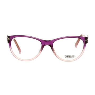 Guess Brille GU 2302 PUR 52 Brillengestell Glasses Frame Damen UVP 174EUR - 2