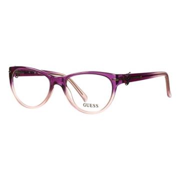 Guess Brille GU 2302 PUR 52 Brillengestell Glasses Frame Damen UVP 174EUR - 1